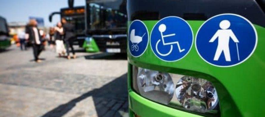 თბილისს დღეიდან მწვანე ფერის ავტობუსები მოემსახურება