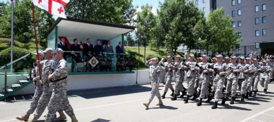 სახელმწიფო უსაფრთხოების სამსახურის ობიექტების დაცვის მთავარი სამმართველოს ახალწვეულებმა სამხედრო ფიცი დადეს