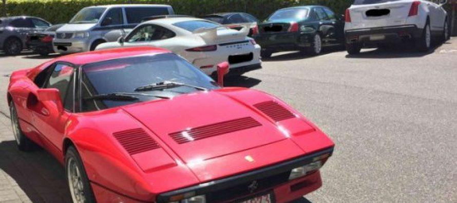 გერმანიაში მანქანის შემოწმებისას ორ მილიონიანი Ferrari გაიტაცეს