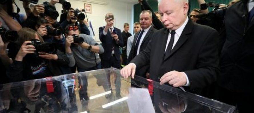 პოლონეთში ევროპარლამენტის არჩევნებზე მმარველი კონსერვატორები ლიდერობენ