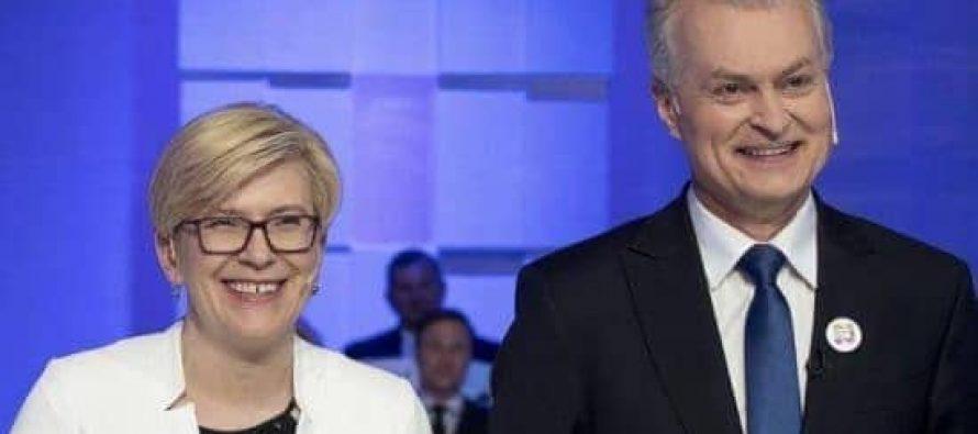 ლიეტუვას საპრეზიდენტო არჩევნების მეორე ტურში შიმონიტე და ნაუსედა გავიდნენ