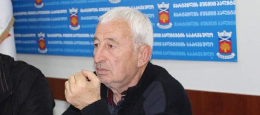 """მარტვილში საკრებულოს წევრი """"ქართული ოცნებიდან"""" გარდაიცვალა"""