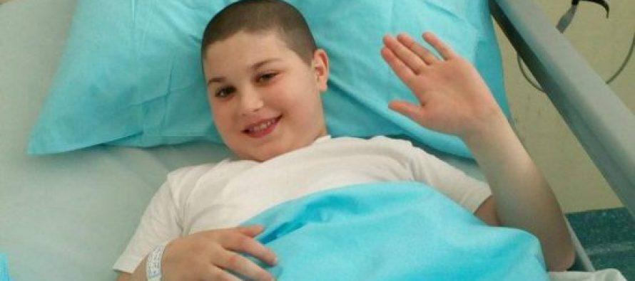 10 წლის მარტვილელი ირაკლი დანელია, რომელიც თავის ტვინის სიმსივნის იშვიათ დაავადებას ებრძოდა, ავსტრიაში გარდაიცვალა