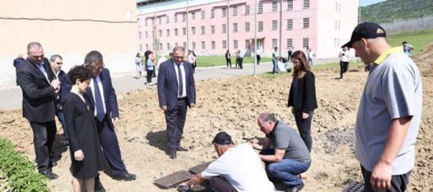 იუსტიციის მინისტრის ინიციატივით, გლდანის საპყრობილეში პატიმრების დასაქმების პროექტი ამოქმედდა