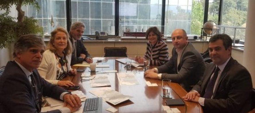 """სს """"საქართველოს რკინიგზის"""" გენერალური დირექტორი  გემთმფლობელდა ოპერატორ კომპანიის აღმასრულებელ დირექტორს შეხვდა"""