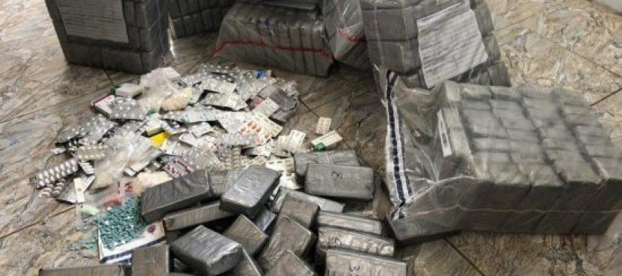 შსს-მ 55 მილიონი ლარის ღირებულების ნარკოტიკული საშუალებები გაანადგურა