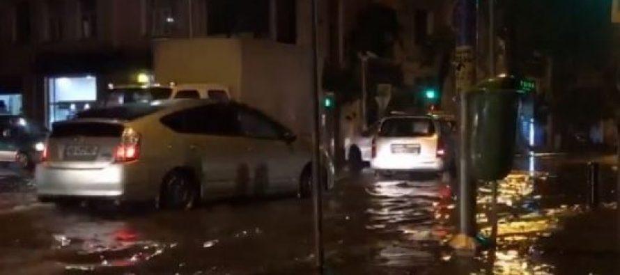 დატბორილი ქუჩები და სახლების პირველი სართულები – ბათუმში წვიმამ პრობლემები შექმნა