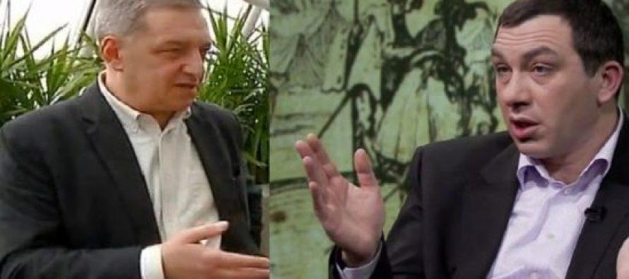 (Video) გია ვოლსკისა და გიგა ბოკერიას შორის დაპირისპირება მოხდა – შე ყეყეჩო, ბოკერია