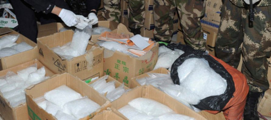 იაპონიაში 550 მილიონი დოლარის მეტამფეტამინი ამოიღეს