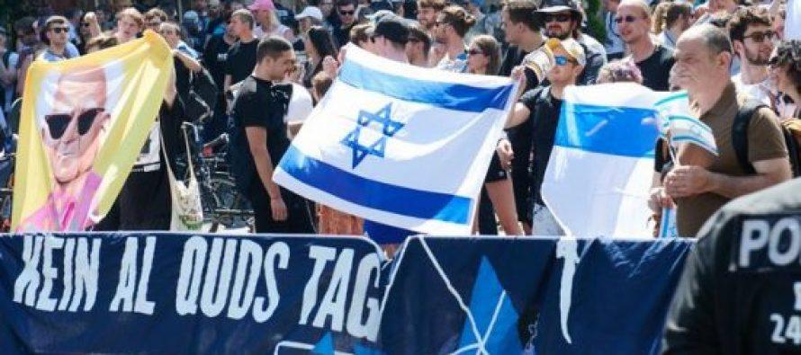 ბერლინში ანტისემიტიზმის წინააღმდეგ აქცია გაიმართა