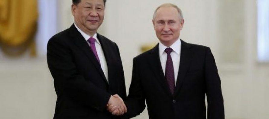 რუსეთისა და ჩინეთის ხელმძღვანელებმა უმაღლესი დონის პარტნიორობის შესახებ გააკეთეს განცხადება