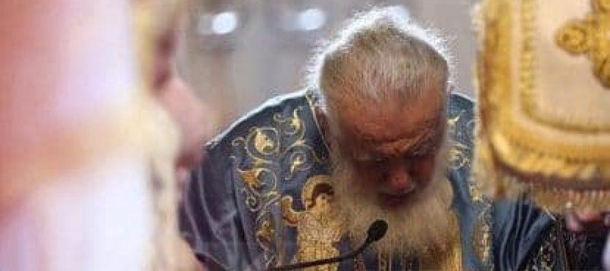 ილია მეორე სვეტიცხოველში საღმრთო ლიტურგიას აღავლენს
