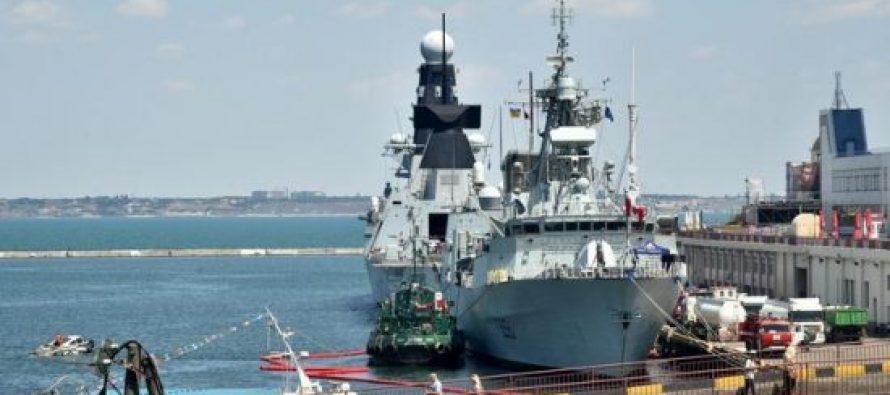 შავ ზღვაში ნატოს და რუსეთის სამხედრო წვრთნები პარალელურად მიდის