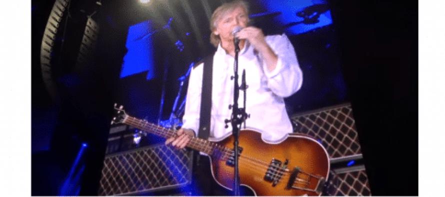 პოლ მაკარტნი და რინგო სტარი ლოს-ანჯელესის კონცერტზე ერთად გამოვიდნენ (ვიდეო)