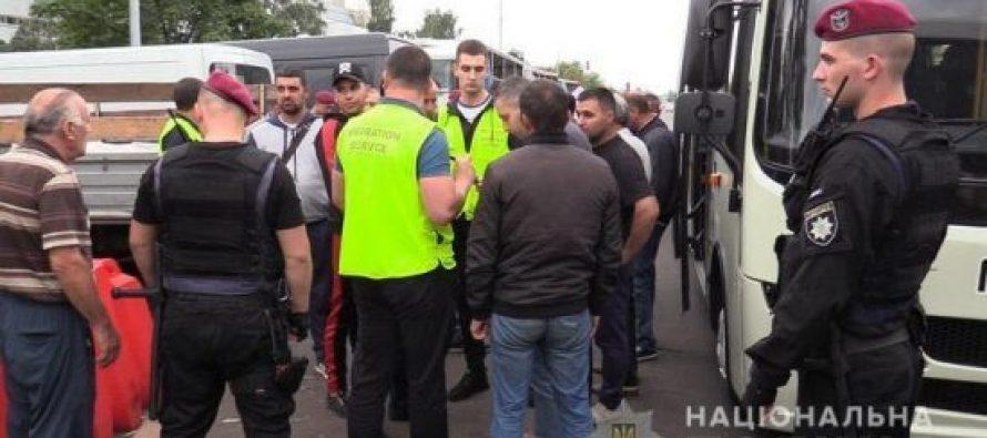 კიევში 119 არალეგალი მიგრანტი დააკავეს, მათ შორის საქართველოს მოქალაქეებიც არიან