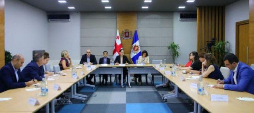 შსს-ს ადამიანის უფლებათა დაცვისა და გამოძიების ხარისხის მონიტორინგის დეპარტამენტის ხელმძღვანელები საერთაშორისო ორგანიზაციის წარმომადგენლებს შეხვდნენ