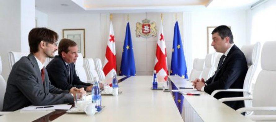 პრემიერ-მინისტრმა და საფრანგეთის ელჩმა ორმხრივი ეკონომიკური თანამშრომლობის გაღრმავების პოტენციალი განიხილეს