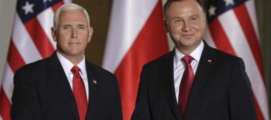პოლონეთის პრეზიდენტმა მაიკ პენსს რუსეთის საქართველოსა და უკრაინის აგრესიები შეახსენა