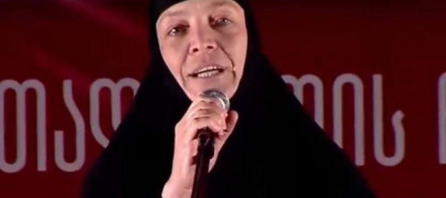 დედა სიდონია: საქართველო უნდა გავიდეს სწორ გზაზე