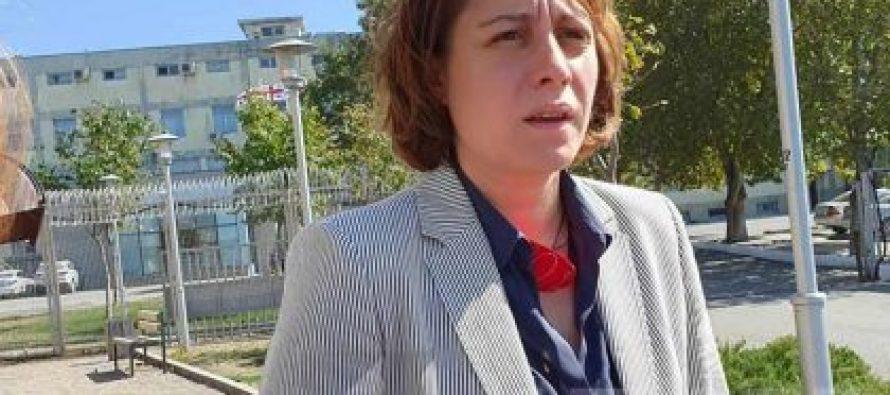 ელენე ხოშტარია: ჩემი პარტიის კამპანიის ამ ფორმას არ ვიზიარებ