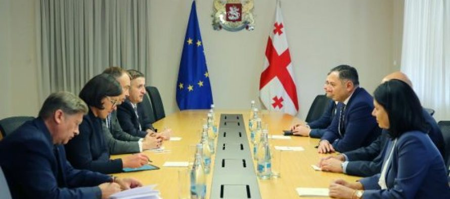 შინაგან საქმეთა მინისტრი სამხრეთ კავკასიასა და საქართველოში კრიზისების საკითხებში ევროკავშირის სპეციალურ წარმომადგენელს შეხვდა