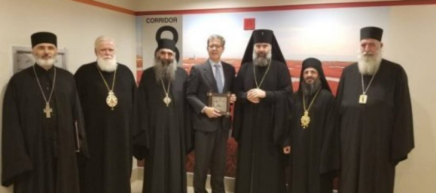 საქართველოს მართლმადიდებელი ეკლესიის ოფიციალური დელეგაციის ვიზიტი აშშ-ში გრძელდება