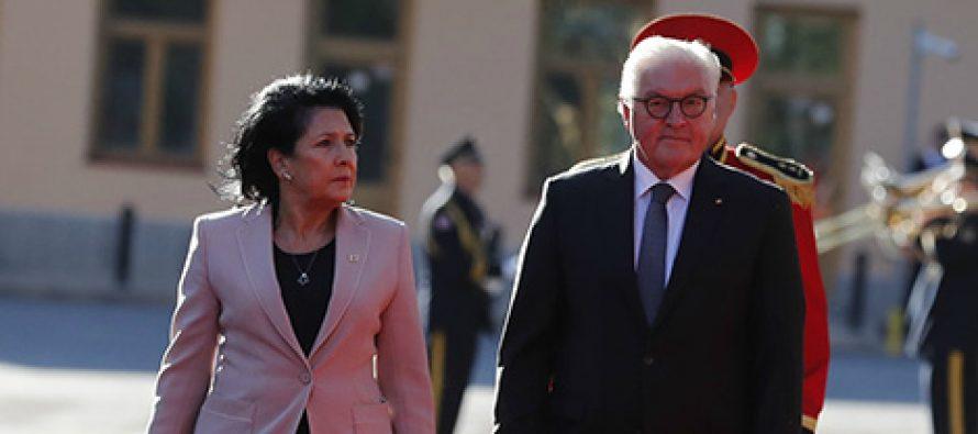 გერმანიის პრეზიდენტი – საქართველოს მთავრობა ეძებს გამოსავალს კონფლიქტის დიპლომატიური გზით გადაჭრისთვის, რუსეთის აქტიური ჩართულობაც გარდაუვალია