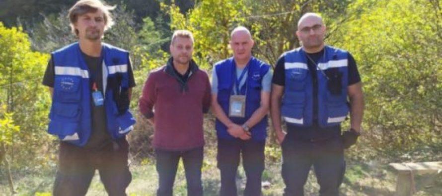 დე-ფაქტო სამხრეთ ოსეთის კგბ-მ ევროკავშირის მისიის წევრები გარკვეული დროით დააკავა