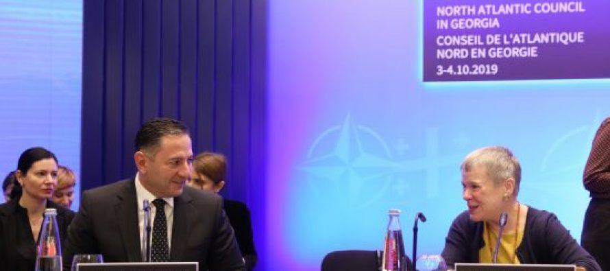 შს მინისტრმა რეგიონული უსაფრთხოების თემაზე გამართულ შეხვედრაზე სტუმრებს სიტყვით მიმართა