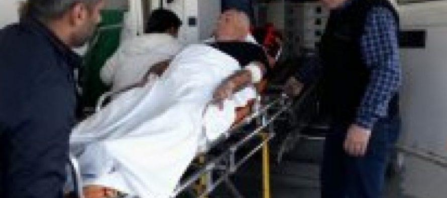 ოზურგეთში, თალაკვაძის ოფისთან აქციის ერთ-ერთი მონაწილე დაშავდა – მისი მდგომარეობა მძიმეა