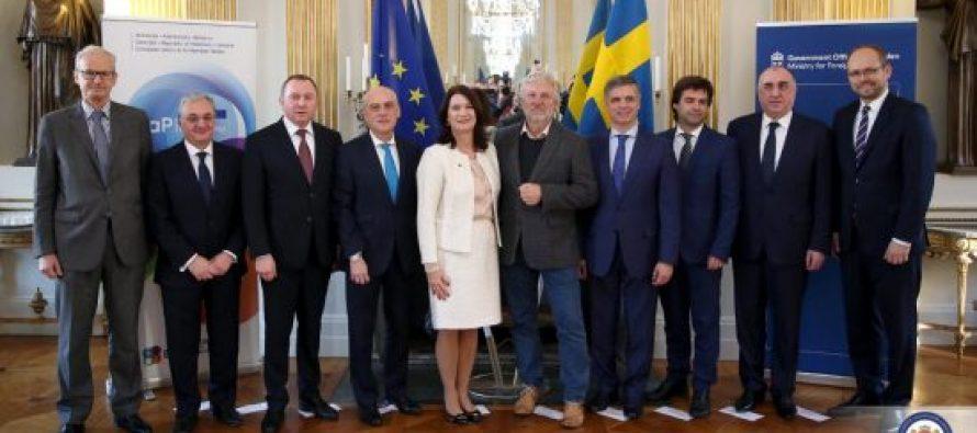 დავით ზალკალიანი: დიდი მადლობა შვედეთს აღმოსავლეთ პარტნიორობის 10 წლის იუბილესთან დაკავშირებით სტოკჰოლმში გამართული მინისტერიალისთვის