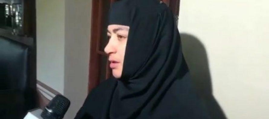 დედათა მონასტერში დედებმა პატრიარქის ფოტო ჩამოხსნეს(+ვიდეო)