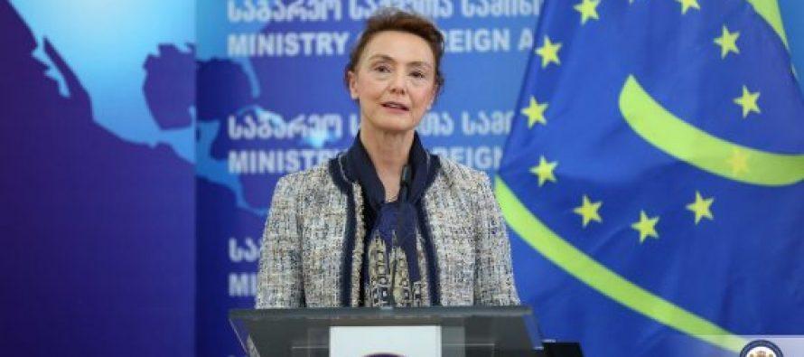 მე მჯერა რომ საქართველოს თავმჯდომარეობა ძალზედ წარმატებული იქნება – განაცხადა ევროპის საბჭოს გენერალურმა მდივანმა, მარია პეინჩინოვიჩ ბურიჩმა