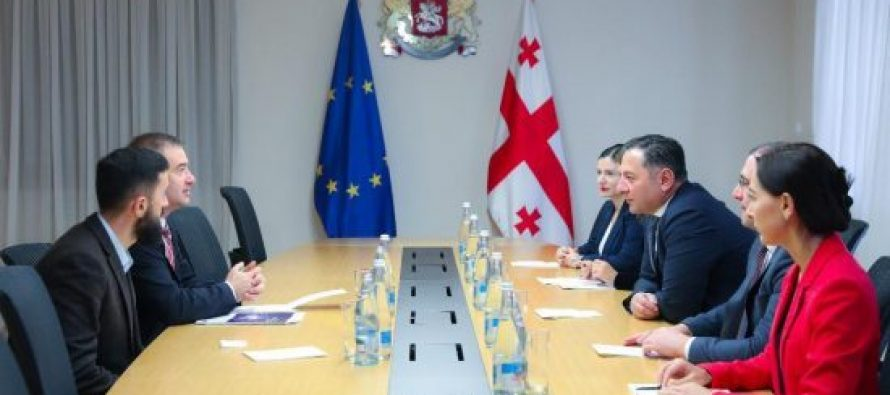 შს მინისტრი საქართველოში ევროპის საბჭოს ოფისის ხელმძღვანელს შეხვდა