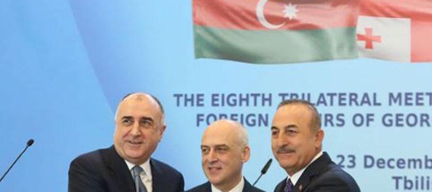 საქართველომ, აზერბაიჯანმა და თურქეთმა თანამშრომლობის ახალი სამოქმედო გეგმა გააფორმეს