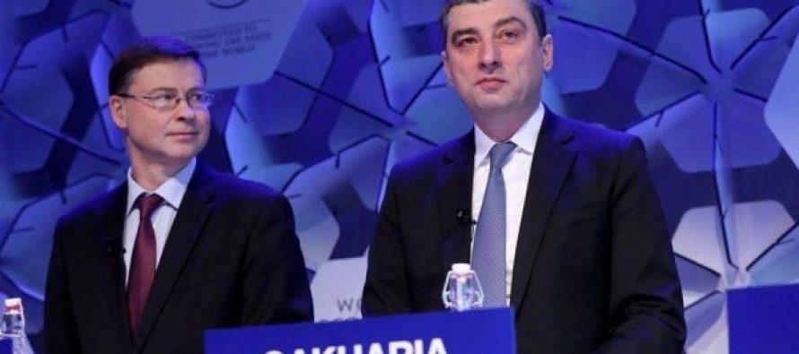 ჟურნალისტი ირაკლი შონია დავოსის მსოფლიო ეკონომიკურ ფორუმზე პრემიერ-მინისტრის მონაწილეობას ეხმაურება