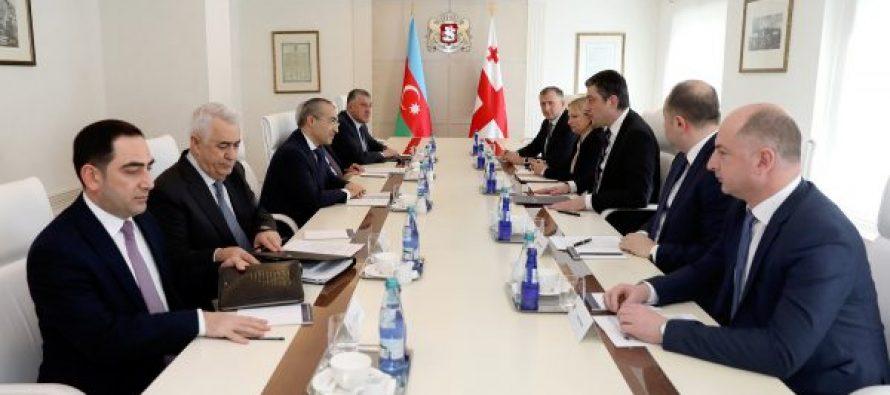 საქართველოს პრემიერ-მინისტრმა და აზერბაიჯანის ეკონომიკის მინისტრმა ორმხრივი ეკონომიკური თანამშრომლობის ძირითადი საკითხები განიხილეს