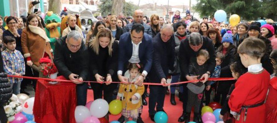 სამეგრელო-ზემო სვანეთის სახელმწიფო რწმუნებულმა და ზუგდიდის მუნიციპალიტეტის მერმა ზუგდიდში ახალი საბავშო ბაღი გახსნეს