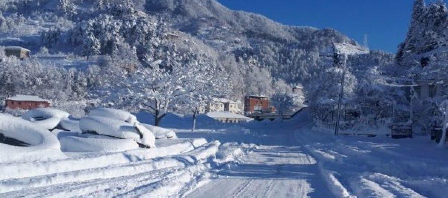 დიდი თოვლის გამო შეფერხებებია ელექტრო მომარაგებაში