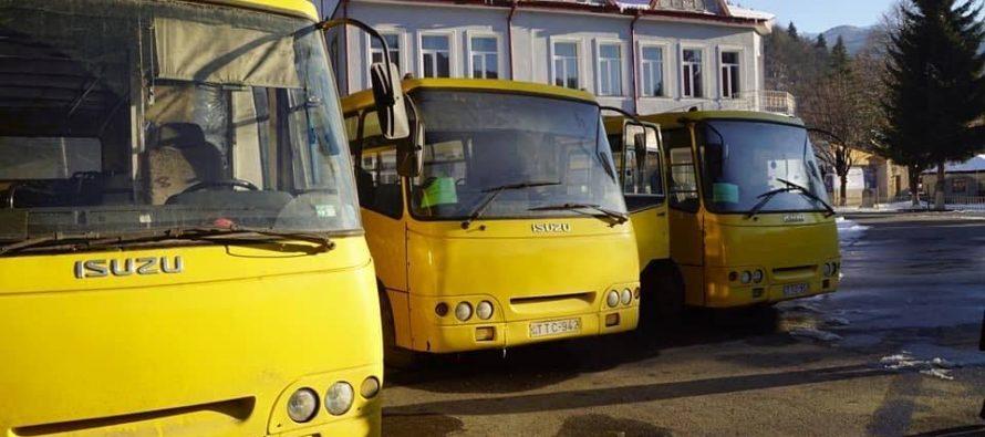 ონის მუნიციპალიტეტს თბილისის მერიამ ოთხი ერთეული ავტობუსი გადასცა