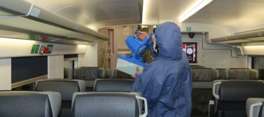 სამგზავრო მატარებელებისა და სადგურების  დეზინფიცირება ყოველდღიურად ჩატარდება