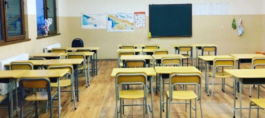 სამეგრელოში კორონავირუსის გამო კიდევ ორი საბავშვო ბაღი და ერთი სკოლა დაიხურა