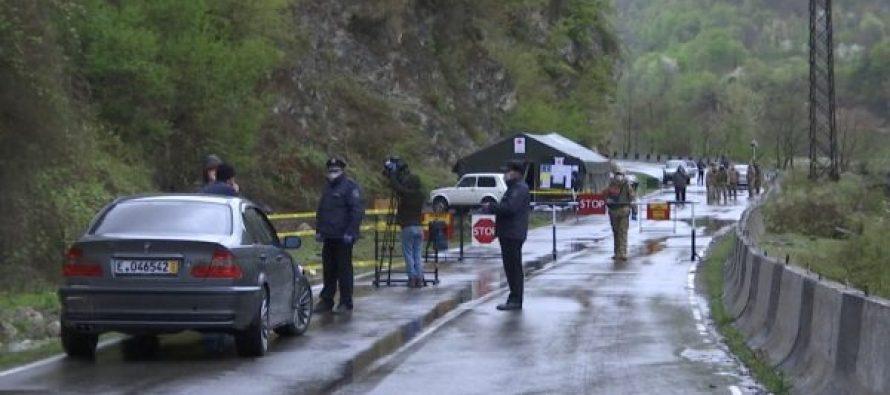 ლენტეხის მუნიციპალიტეტში პოლიციის მიერ საკარანტინო შეზღუდვებზე კონტროლი გრძელდება