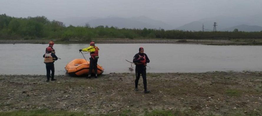მაშველები კახეთში, მდინარე ალაზანში გაუჩინარებულ მამაკაცს ეძებენ