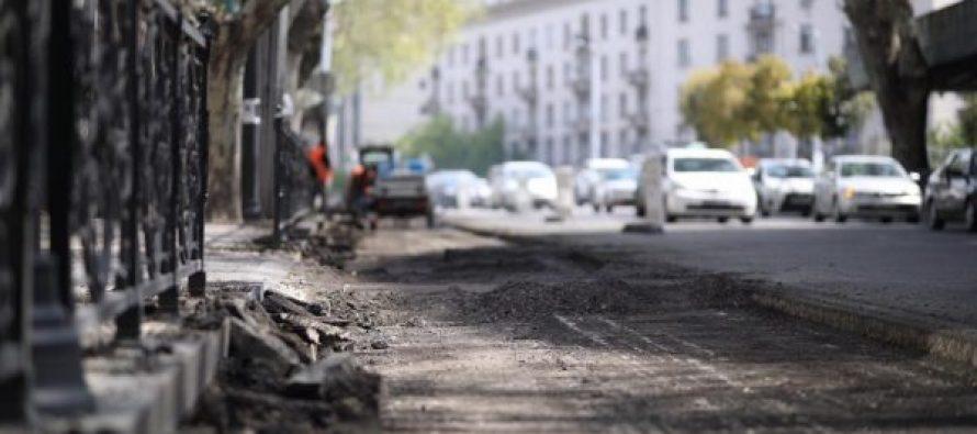 კოსტავას ქუჩის ნაწილს კაპიტალური რეაბილიტაცია ჩაუტარდება
