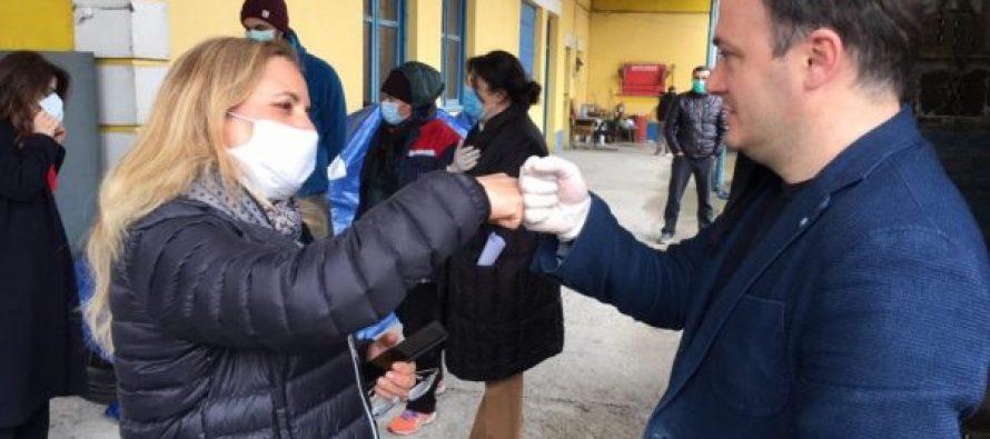 სამეგრელოში, ირაკლი ზარქუასა და თურქეთის ელჩის ერთობლივი ინიციატივით 150 ოჯახს დაეხმარებიან