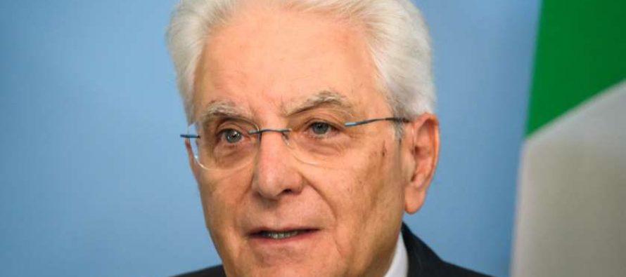 იტალიის პრეზიდენტმა მაღალი შეფასება მისცა პანდემიასთან ბრძოლისას საქართველოს მიერ გატარებულ ღონისძიებებსა და მიღწევებს