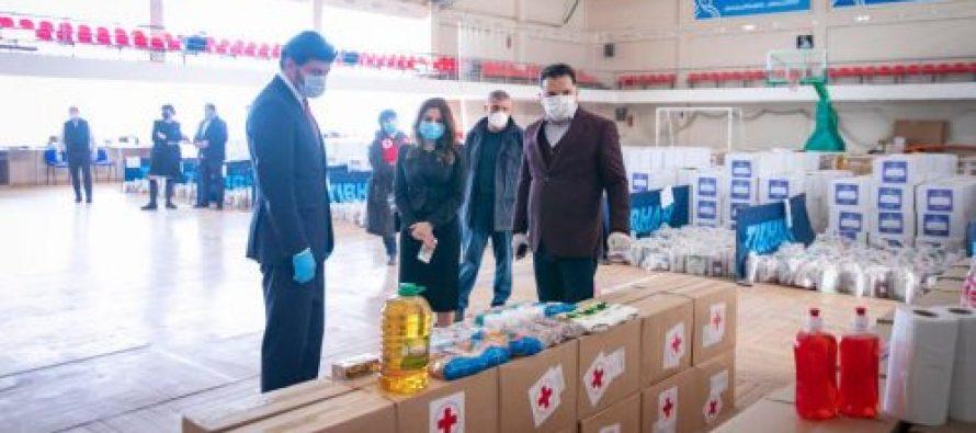 თბილისში მარტოხელა ხანდაზმულებზე დახმარებების გაცემის მეორე ეტაპი დაიწყო
