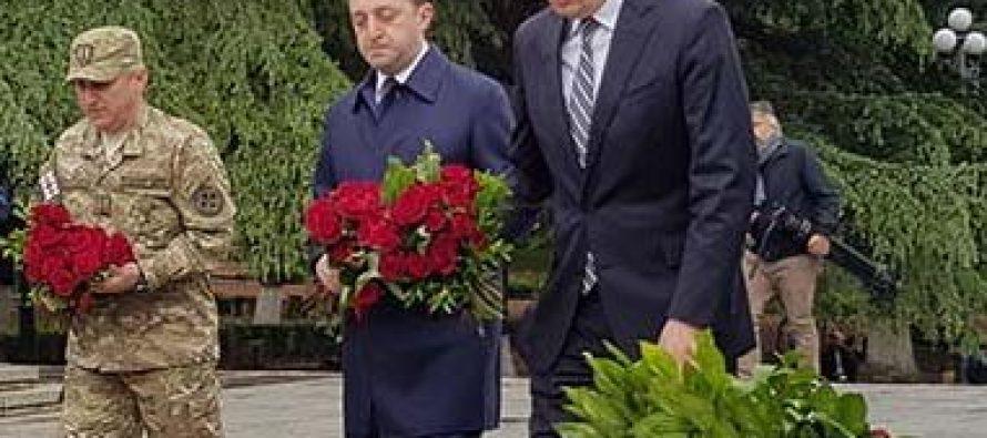 გიროგი გახარია: ყველას გილოცავთ ფაშიზმზე გამარჯვების დღეს