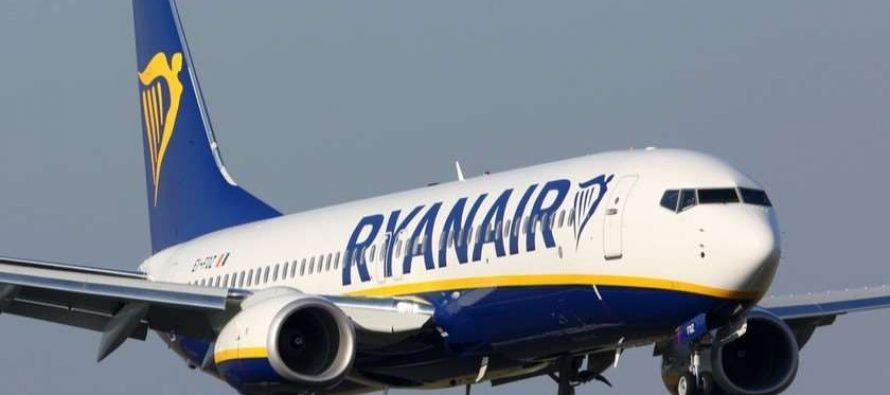 Ryanair-ი ფრენებს საქართველოს მიმართულებით ივლისიდან აღადგენს